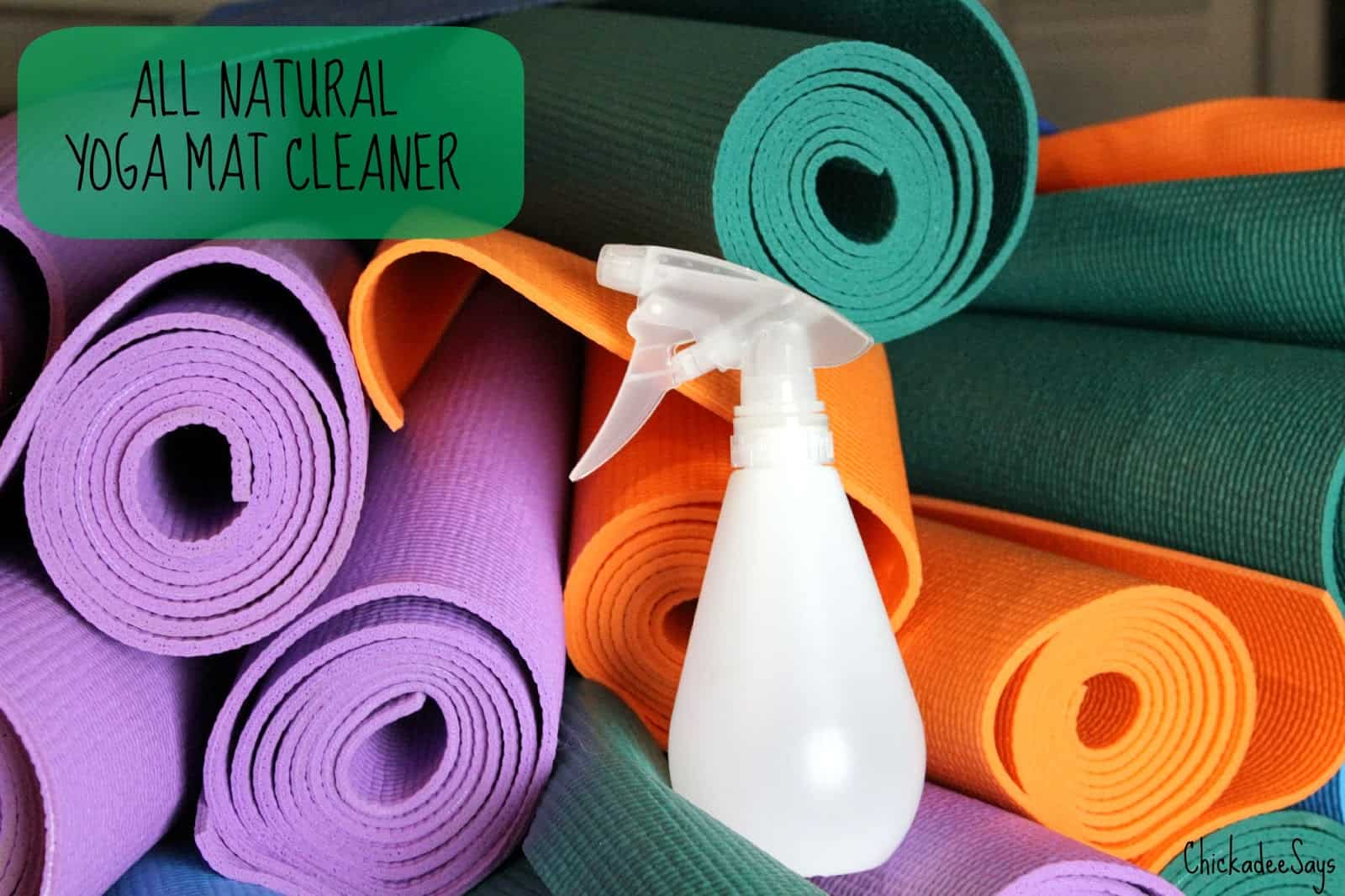 diy all natural yoga mat cleaner habits of a modern hippie. Black Bedroom Furniture Sets. Home Design Ideas